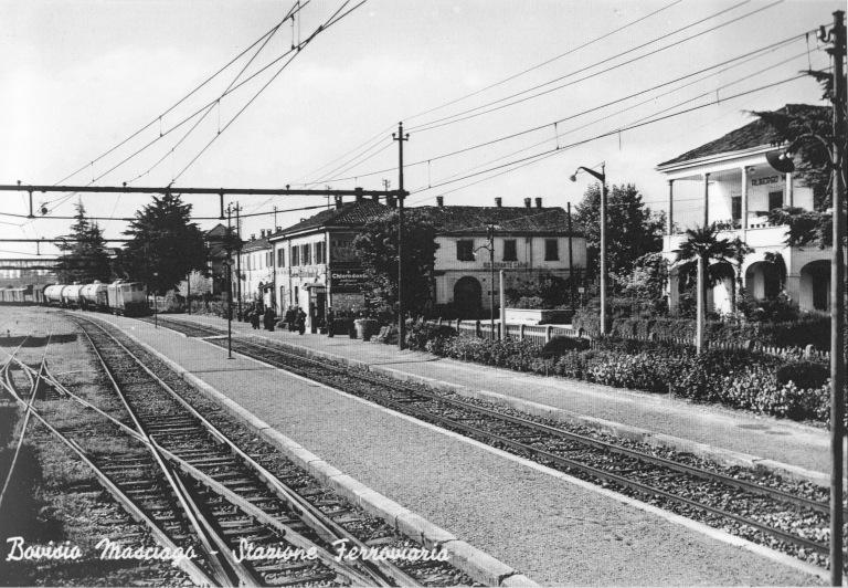 Stazione di Bovisio negli anni '50