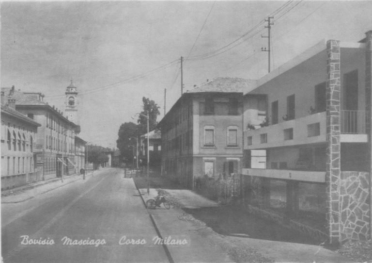 Corso Milano negli anni '70