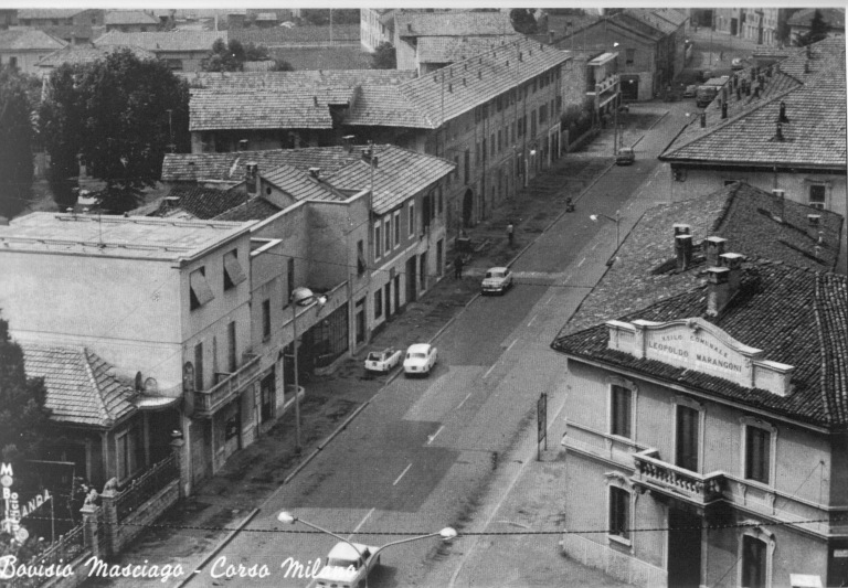 Corso Milano negli anni 1975/80