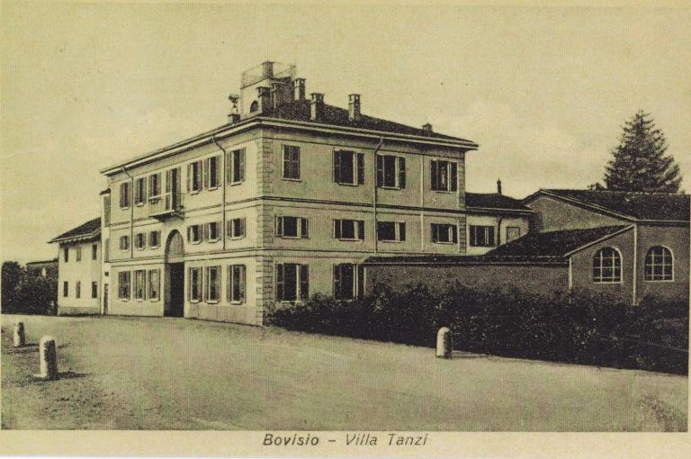 Villa Tanzi negli anni '50