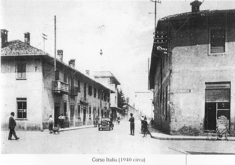 Corso Italia alla fine degli anni '40