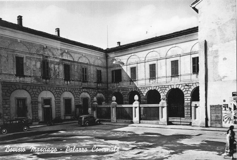 Il Municipio negli anni '50