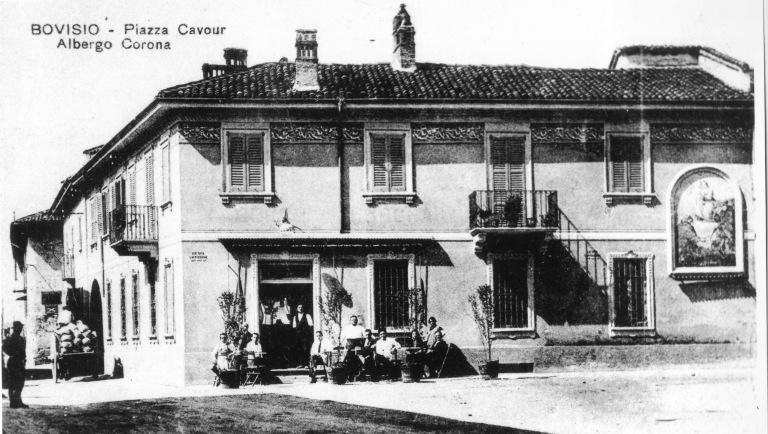 Piazza Cavour negli anni '50