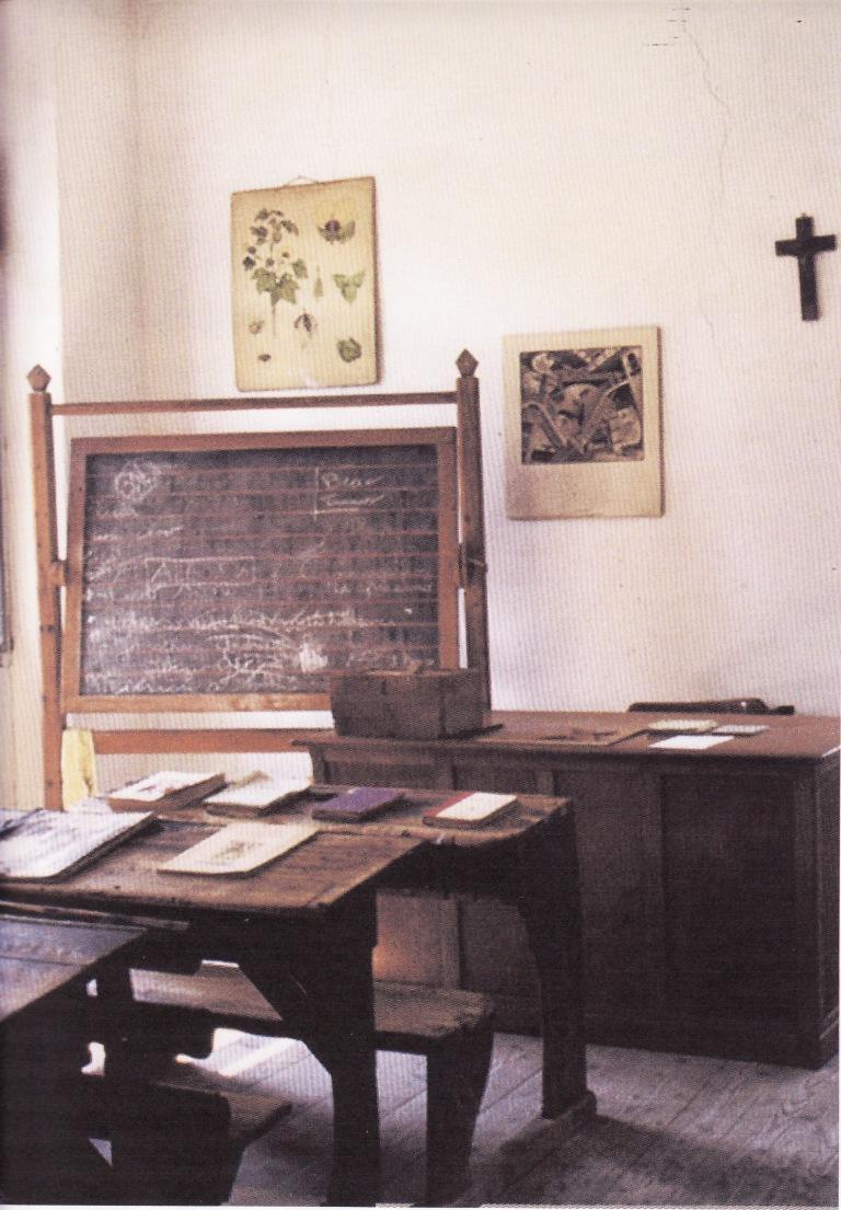 Aula della vecchia scuola elementare