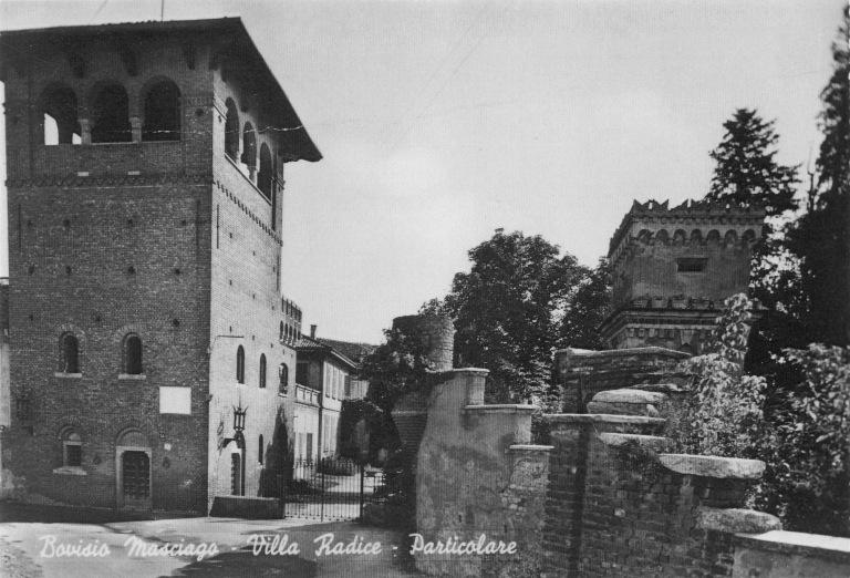 La villa Agnesi negli anni '50
