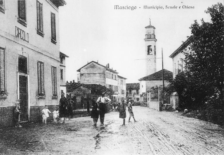 Via Isonzo e l'osteria Circolo