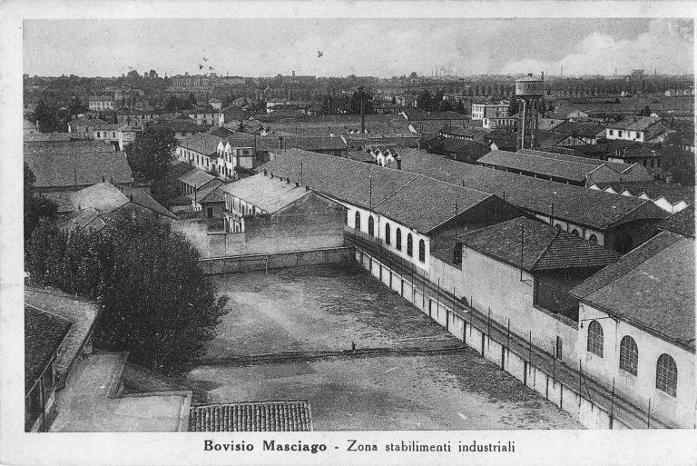 Zona industriale e campo dell'Oratorio di san Pancrazio