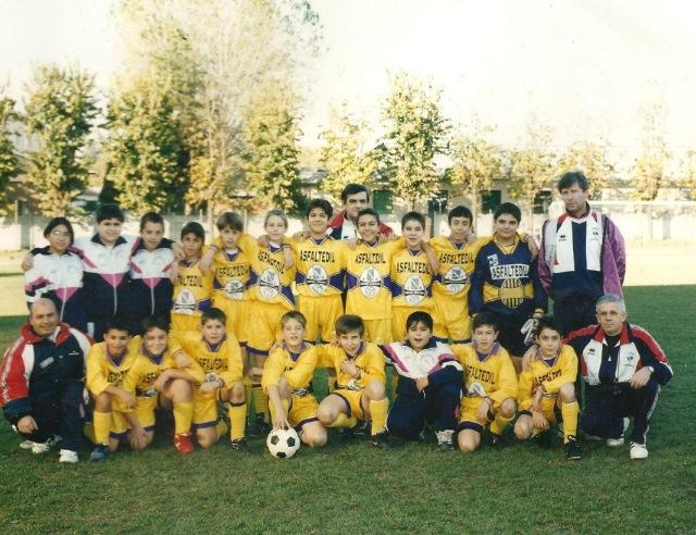 Pulcini dell'AC Bovisio nel 1998-99