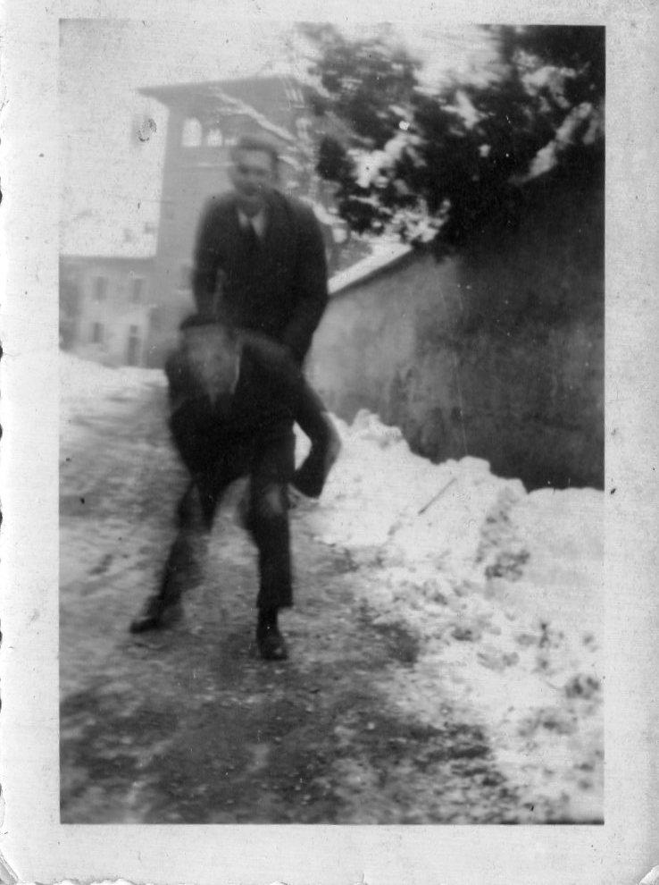 Neve in via Agnesi