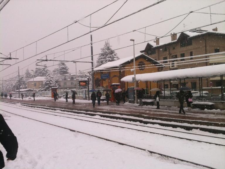 Neve alla Stazione