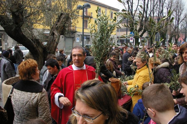 Benedizione degli ulivi