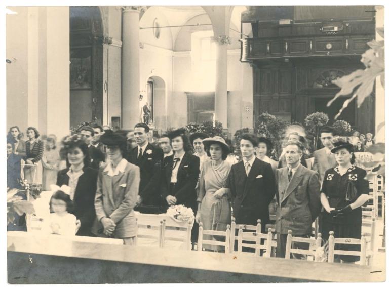 Chiesa di San Pancrazio nel 1947