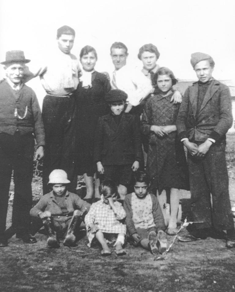 Le famiglie della Cascina Bertaciola