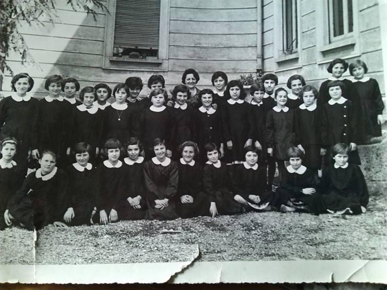 Foto di classe anno scolastico 1959-60