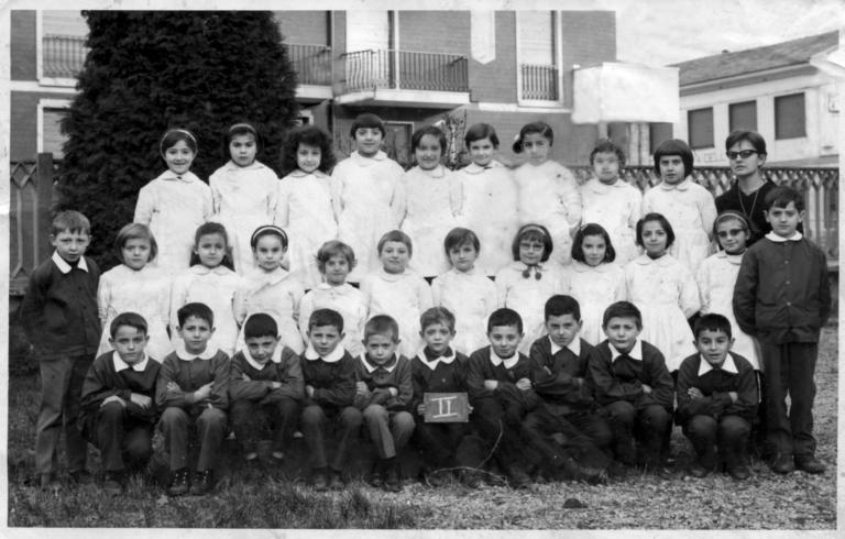 Foto di Classe - 2° elementare anno 1966-67