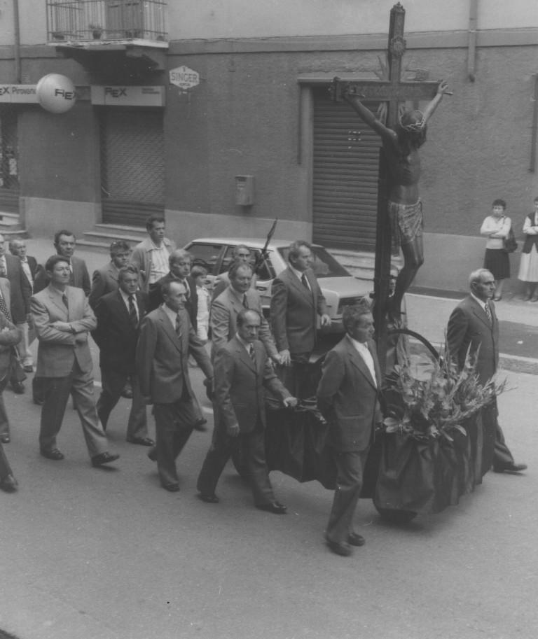 Processione del santo Crocifisso del 1979