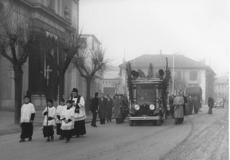 Funerale negli anni '60