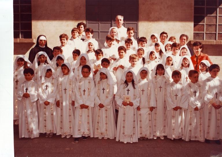 Prime comunioni 1985