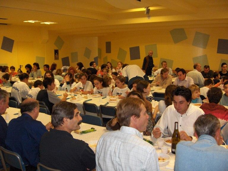 Pranzo in oratorio san Martino